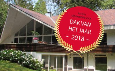 Genomineerd voor dak van het jaar 2018!